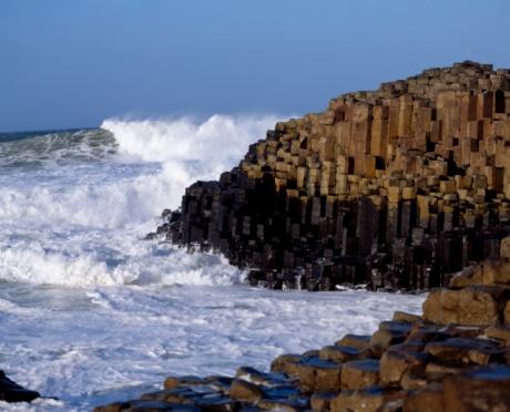 Basalt「Giant's Causeway, County Antrim, Ireland, Basalt Columns」:スマホ壁紙(15)