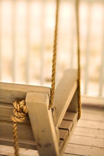 Sepia Toned「Porch swing, Holden Beach, North Carolina」:スマホ壁紙(0)
