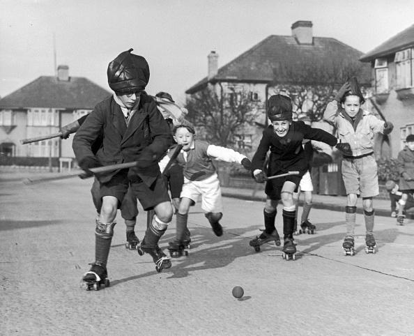 Fred Morley「Roller-Hockey」:写真・画像(0)[壁紙.com]