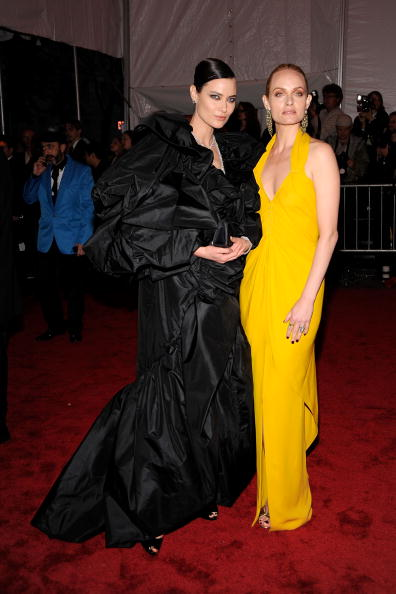 "Eyeliner「""The Model As Muse: Embodying Fashion"" Costume Institute Gala - Arrivals」:写真・画像(14)[壁紙.com]"