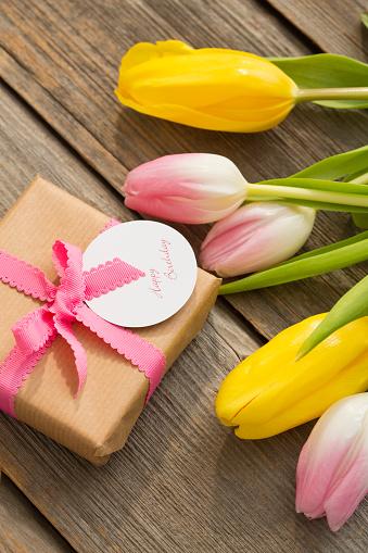 母の日「Present for Mothers Day」:スマホ壁紙(6)