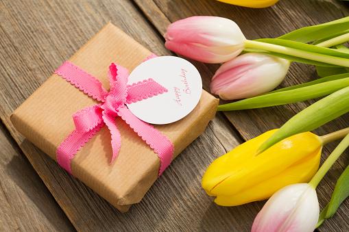 母の日「Present for Mothers Day」:スマホ壁紙(14)