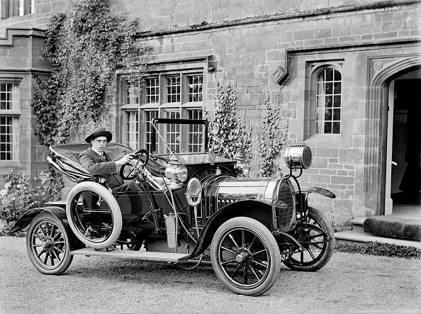 Edwardian Style「Chenard Walcker Motor Car」:写真・画像(6)[壁紙.com]