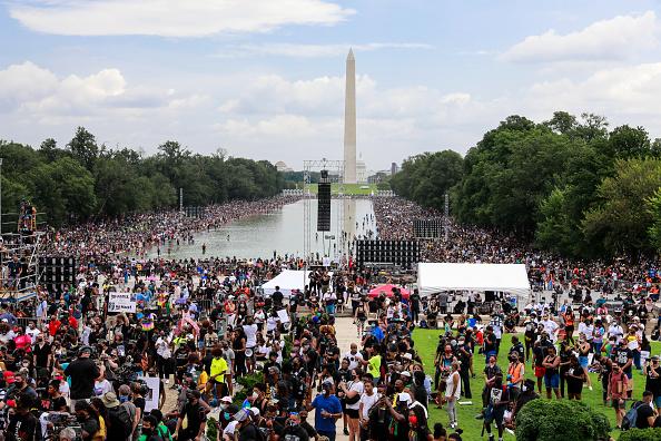 Legislation「March On Washington To Protest Police Brutality」:写真・画像(5)[壁紙.com]