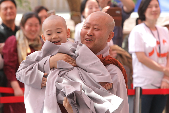 Celebration Event「Children Become Buddhist Monks In Seoul」:写真・画像(0)[壁紙.com]