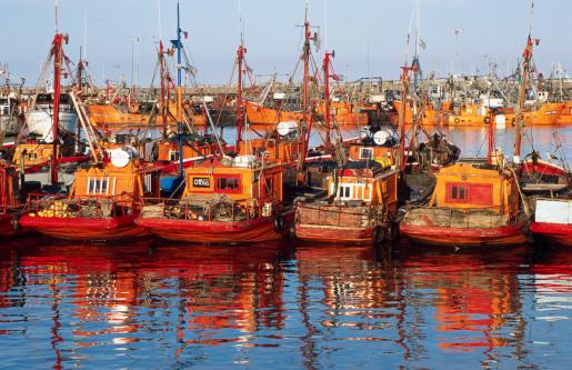 Buenos Aires「Fishing boats moored at Baquina de Pescadores.」:スマホ壁紙(4)