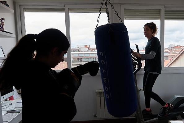 Sport「Spain Continues Nationwide Lockdown To Combat The Coronavirus」:写真・画像(12)[壁紙.com]