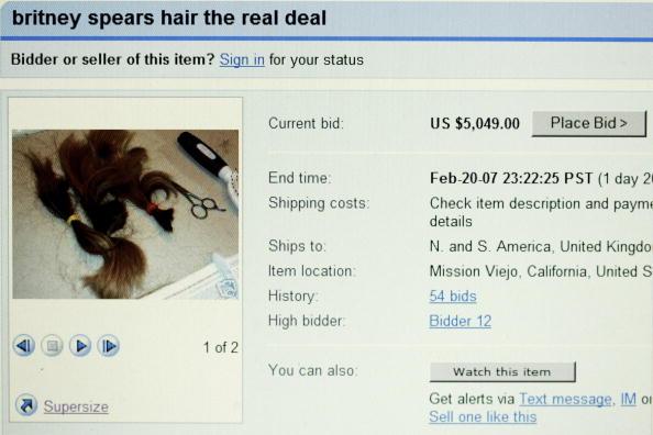 髪「Britney Spears' Hair For Sale On Ebay」:写真・画像(18)[壁紙.com]