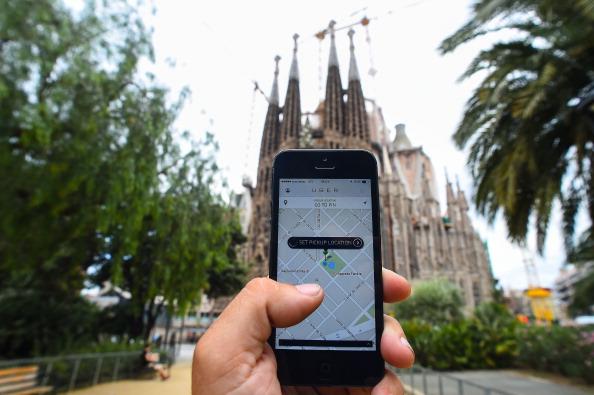 Sagrada Familia - Barcelona「Barcelona Cabs Strike Against Uber Taxi App」:写真・画像(1)[壁紙.com]