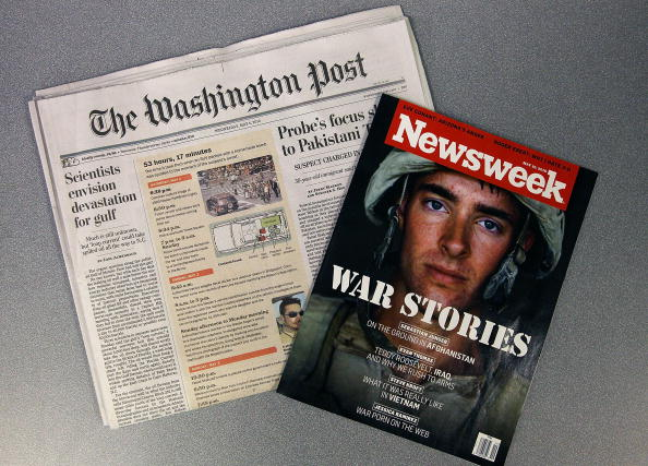 The Washington Post「Washington Post Company Puts Newsweek Up For Sale」:写真・画像(5)[壁紙.com]