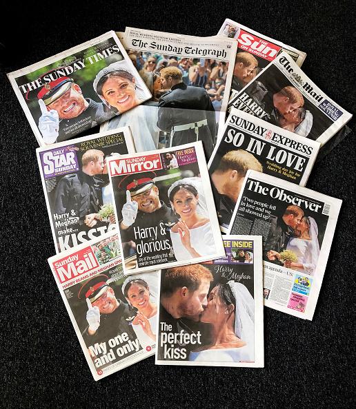 Newspaper「Royal Wedding Headlines in United Kingdom Newspapers」:写真・画像(19)[壁紙.com]