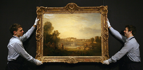 Richmond-upon-Thames「Rarely Seen Turner Masterpiece Goes Up For Auction」:写真・画像(3)[壁紙.com]