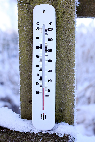 Thermometer「Freezing Temperatures Continue To Grip The Country」:写真・画像(0)[壁紙.com]