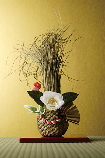 New Year「Kadomatsu decoration」:スマホ壁紙(7)