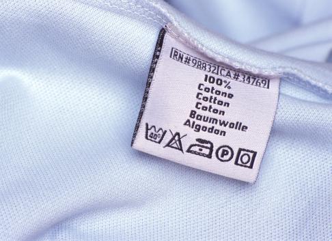 Washing「Washing label on white cloth, close-up」:スマホ壁紙(18)