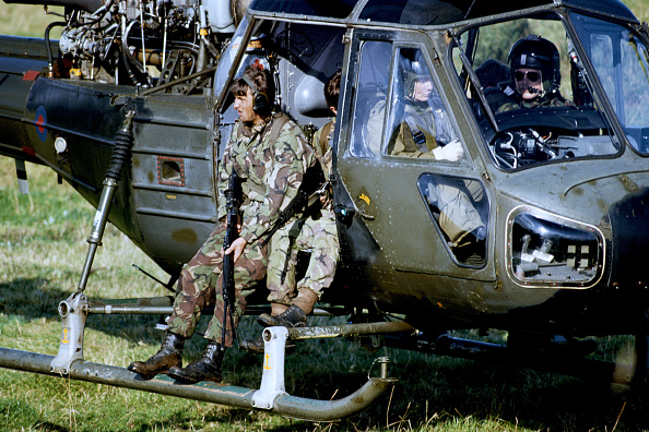 1981「British Army Patrol In Bandit Country Around Crossmaglen, County Armagh」:写真・画像(8)[壁紙.com]