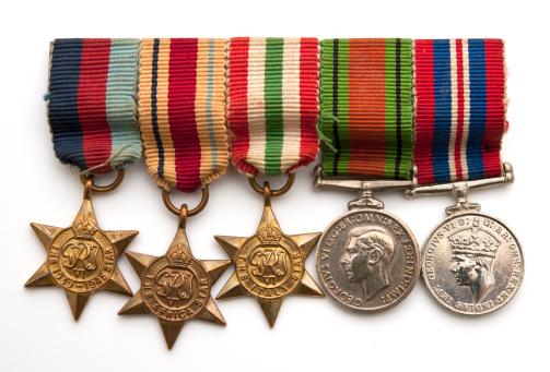 World War II「british soldiers world war two medals」:スマホ壁紙(18)
