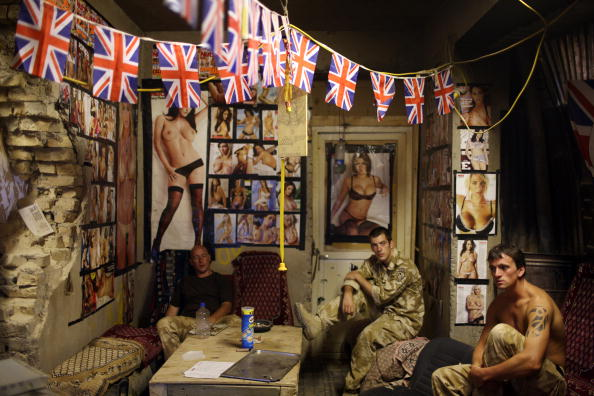 Army Soldier「British Army HQ Coordinates Afghan Operations」:写真・画像(5)[壁紙.com]