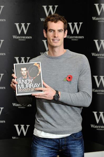 テニス選手 アンディ・マレー「Andy Murray - Book Signing」:写真・画像(5)[壁紙.com]