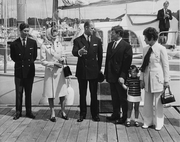 Sailing「Chay Blyth And The Royals」:写真・画像(13)[壁紙.com]
