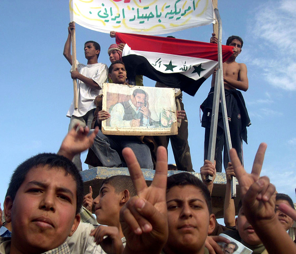 Sunni Islam「Pro-Saddam Rally Held In Tikirt」:写真・画像(13)[壁紙.com]
