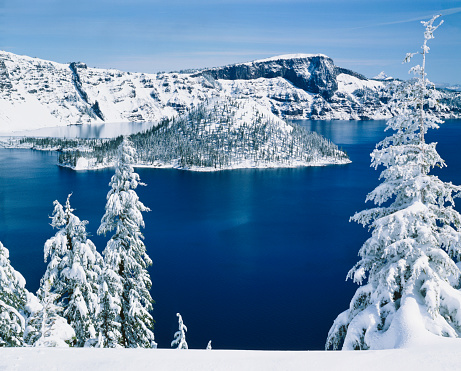 Crater Lake National Park「Crater Lake National Park    (P)」:スマホ壁紙(3)