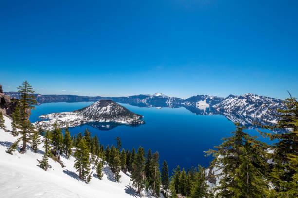 Crater Lake, Oregon:スマホ壁紙(壁紙.com)