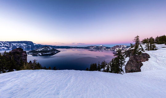 National Park「Crater Lake, Oregon」:スマホ壁紙(18)