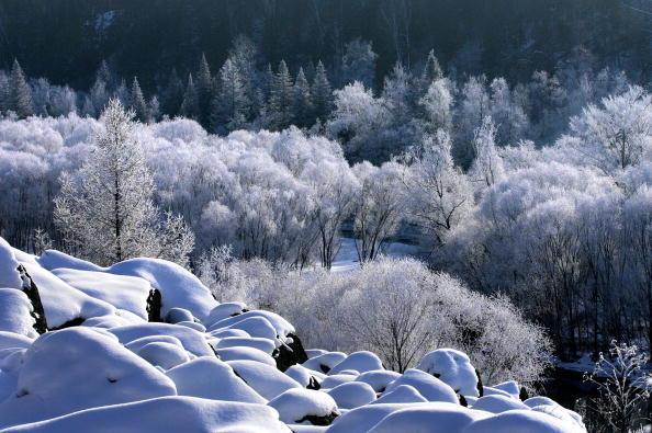 "Heilongjiang Province「""Forest"" City Yichun Scenery Makes It Ecological Destination」:写真・画像(1)[壁紙.com]"