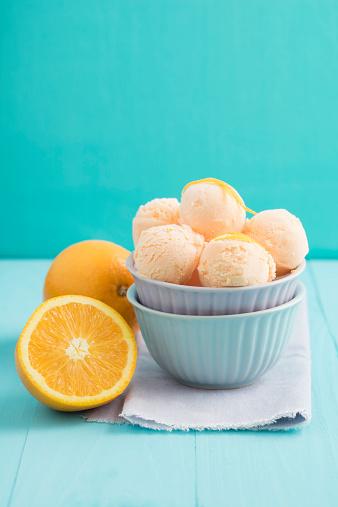 アイスクリーム「Orange icecream」:スマホ壁紙(12)