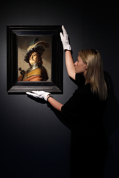 Matthew Lloyd「Press Preview Of Paintings By Rembrandt And Constable Prior To Auction」:写真・画像(12)[壁紙.com]