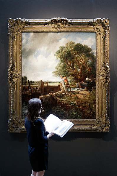 Matthew Lloyd「Press Preview Of Paintings By Rembrandt And Constable Prior To Auction」:写真・画像(11)[壁紙.com]