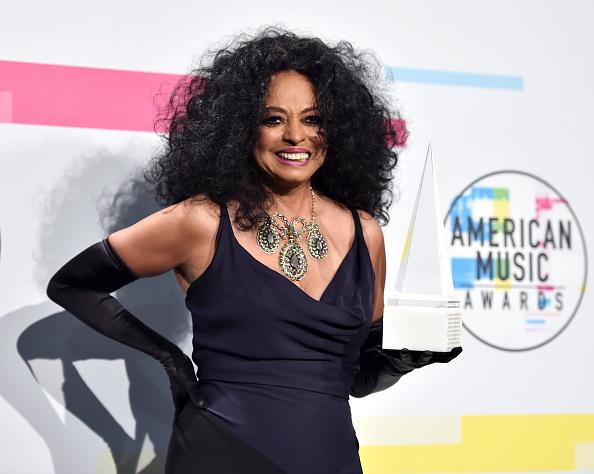 Diana Ross「2017 American Music Awards - Press Room」:写真・画像(4)[壁紙.com]