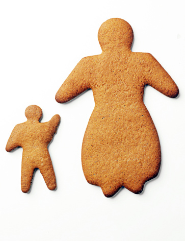 A Helping Hand「Ginger bread biscuits shaped like mother and child」:スマホ壁紙(11)