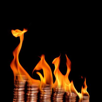 Inferno「burning money」:スマホ壁紙(10)