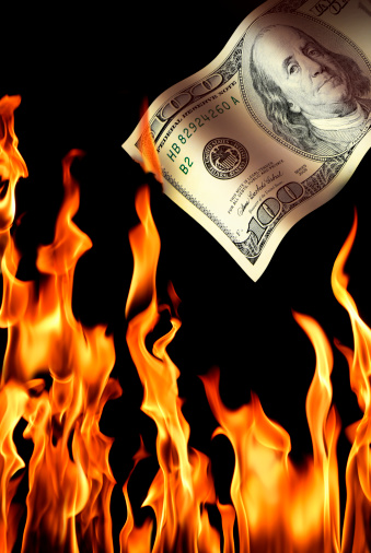 Inferno「burning money」:スマホ壁紙(4)