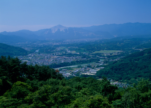 長瀞「Mount Buko and Nagatoro Village, Nagatoro, Saitama, Japan」:スマホ壁紙(14)