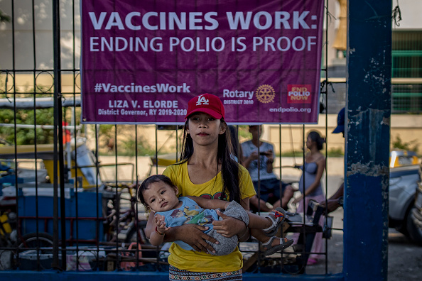 Ezra Acayan「Mass Polio Vaccination In The Philippines」:写真・画像(8)[壁紙.com]