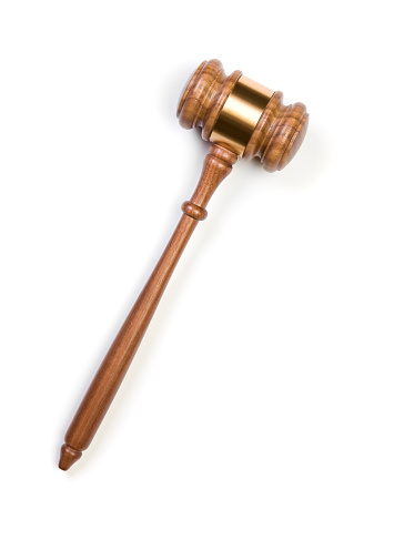 Law「Gavel」:スマホ壁紙(19)