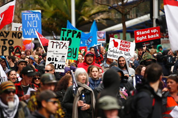 Free Trade Agreement「Protesters Rally Against The Trans-Pacific Partnership Agreement (TPPA)」:写真・画像(17)[壁紙.com]