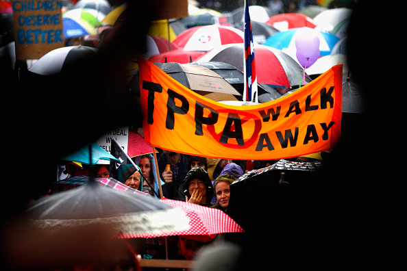 Free Trade Agreement「Protesters Rally Against The Trans-Pacific Partnership Agreement (TPPA)」:写真・画像(18)[壁紙.com]