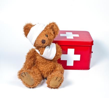 Stuffed Animals「damaged teddybear」:スマホ壁紙(2)