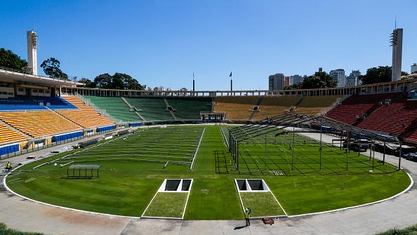 Makeshift「Pacaembu Football Stadium to Turn Into Field Hospital Due to the Coronavirus (COVID -19) Pandemic」:写真・画像(11)[壁紙.com]