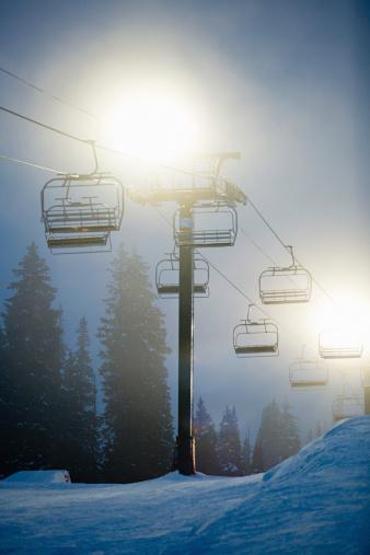 Ski Resort「Ski lifts」:スマホ壁紙(0)