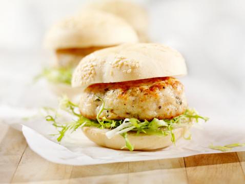 Pub Food「Mini Turkey Burgers with Arugula」:スマホ壁紙(12)