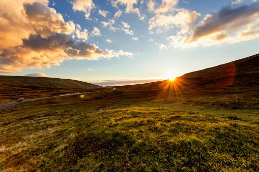 Sunbeam「Sunset on Isle of Skye Scotland」:スマホ壁紙(19)