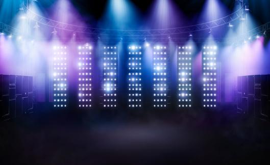 Rock Music「Concert stage 2」:スマホ壁紙(1)