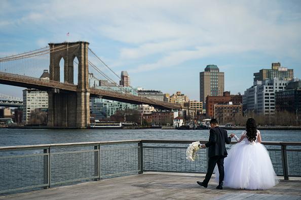 結婚「Mayor Bill De Blasio Announces Plan To Protect Lower Manhattan From Storms And Rising Seas」:写真・画像(14)[壁紙.com]