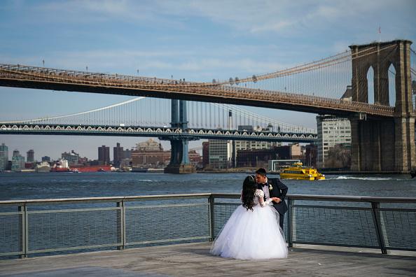 結婚「Mayor Bill De Blasio Announces Plan To Protect Lower Manhattan From Storms And Rising Seas」:写真・画像(15)[壁紙.com]