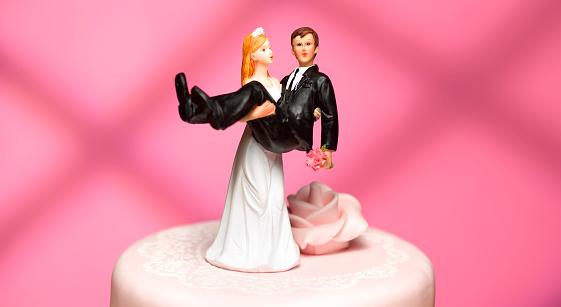 Couple「bride and groom wedding figurines」:スマホ壁紙(14)